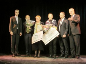 1. Platz beim isi-Schulpreis 2016 in Mittelfranken für die Friedrich-Hegel-Schule